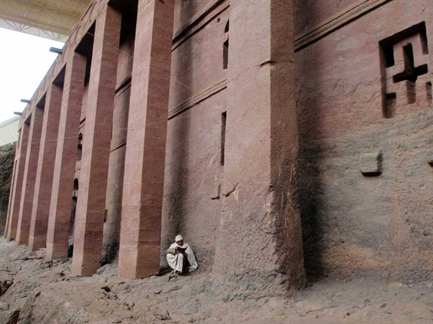 Lalibela Ethiopia - rock churches